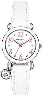 Watch Viceroy 46898-04 girl White Leather Quartz