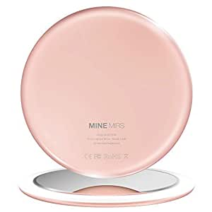 Amazon Com Mine Mirs Smart Lighted Compact Mirror With