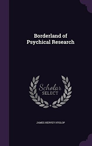 Download Borderland of Psychical Research ebook