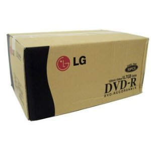 600pcs LG DVD-R 16x 120min 4.7GB Back up Disc by Gigablock