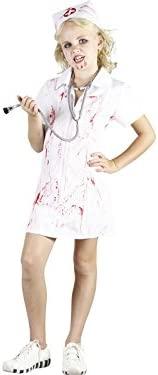 DISONIL Disfraz Enfermera Loca Niña Talla M: Amazon.es ...