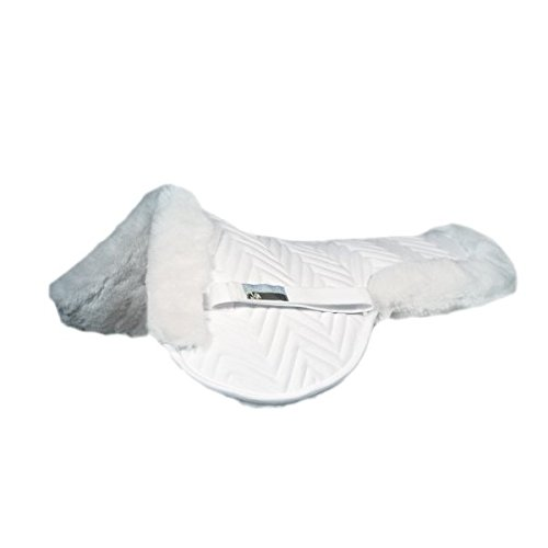 Fleeceworks Perfect Balance TheraWool Half Pad (Large, White)
