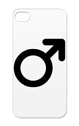 Black Male Symbol For Iphone 5s Tear Resistant Symbols Shapes Male
