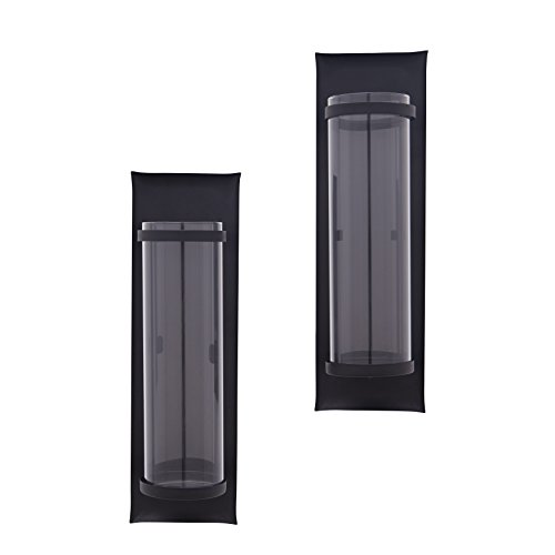Buy metal wall sconces set of two