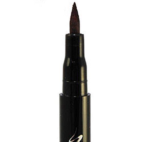 Msmask Gel Eyeliner Pencil Long_Lasting Waterproof Matte Black Kohl Eye Pencil Makeup Smooth Shocking Smudge-proof -