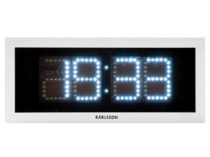 Horloge digitale à LED design rectangle: Amazon.fr: Cuisine & Maison