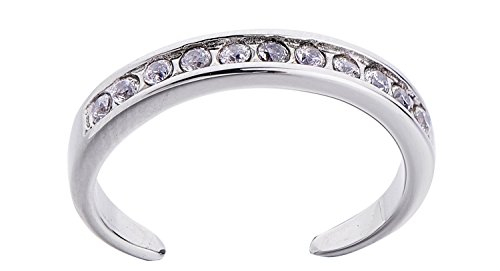 Channel Polished Cubic Zirconia Stainless