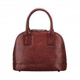 6c7c1265a128b Maxwell Scott Luxury Italian Mock Croc Leather Tote Ladies Purse - Tan