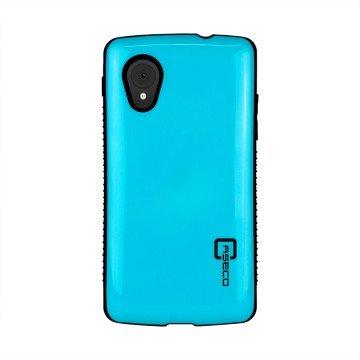 LG Nexus 5 Mobile Case By Caseco- Shock Express Metallic Drop-Proof Case - Shockproof Heavy Duty Cover -