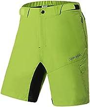Santic Men's Mountain Bike Shorts Loose Fit MTB Shorts Cycling Shorts Baggy Zipper Poc