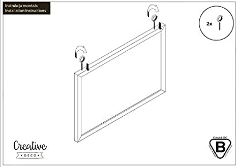 Bedroom /& Home Creative Home 900 x 600 mm Aluminium Frame Cork Notice Board Large Made in EU Perfect for Office School