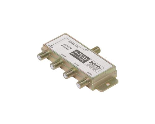Steren Signal Splitter - Steren 201-234 2GHz 90dB 4-Way Splitter 1-DC (Discontinued by Manufacturer)