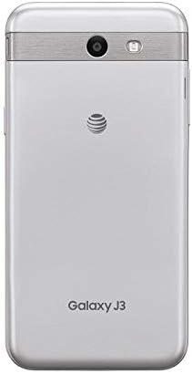 SAMSUNG Galaxy Prime 16GB J327 J3 AT&T T-Mobile Unlocked Smartphone - Silver (Renewed) WeeklyReviewer