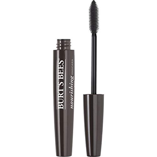 Burt's Bees 100% Natural Origin Nourishing Mascara, Black Brown - 0.4 Ounce