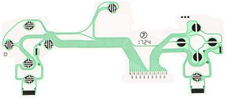 Sony Playstation 4 PS4 5.0 コントローラ用 導電性 フィルム キーパッド フラット フレックスリボンケーブル