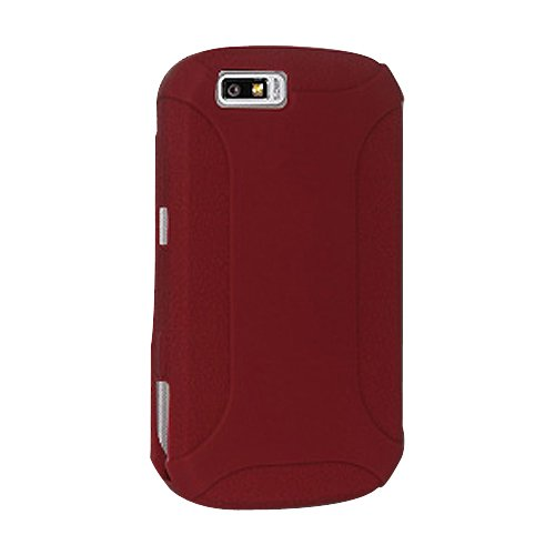 Amzer Silicone Skin Jelly Case for Motorola i1 - Maroon ()