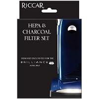 Genuine Riccar Brilliance Premium HEPA Filter and Charcoal Filter Set - Riccar Part # RF5P