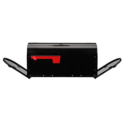 Gibraltar Mailboxes OM160B01 Outback Double Door, Large Capacity Mailbox Black by Gibraltar Mailboxes (Image #3)