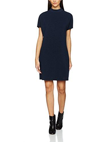 SELECTED FEMME Sfluisa Ss Dress, Vestido para Mujer Azul (dark Sapphire)