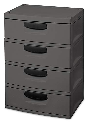 Sterilite 01743V01 4 Drawer Storage