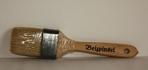 Beizpinsel 5 cm, helle Chinaborste