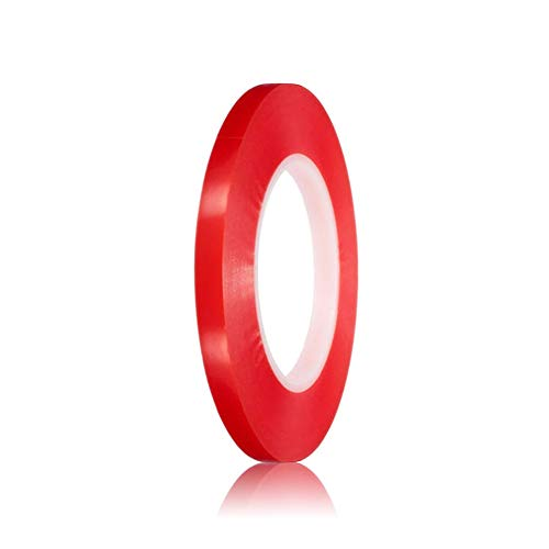 MLXHXQD Double-Sided Length 3M Width 6/8/10/12 / 15MM Strong Transparent Transparent Foam Tape Double-Sided Tape