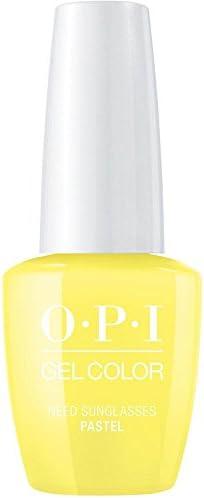 OPI Gelcolor Pastel necesidad gafas de sol? Profesional de los esmaltes de uñas en gel [15ml]: Amazon.es: Belleza