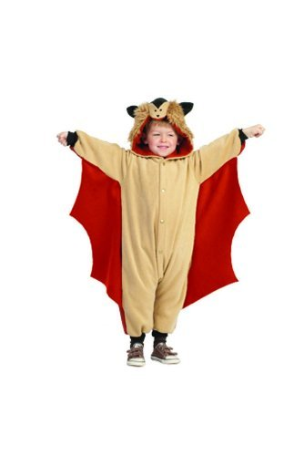 RG Costumes 'Funsies' Skippy The Flying Squirrel, Child Small/Size 4-6 ()