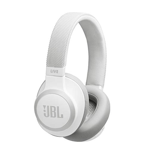 JBL LIVE 650BTNC - Around-Ear Wireless Headphone with Noise Cancellation - White