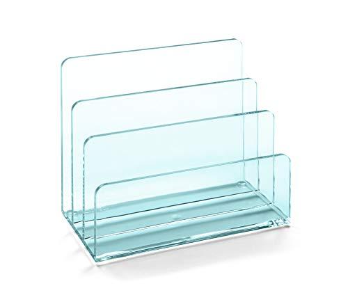 OSCO ALH-GL Glass Look Acrylic Letter Holder