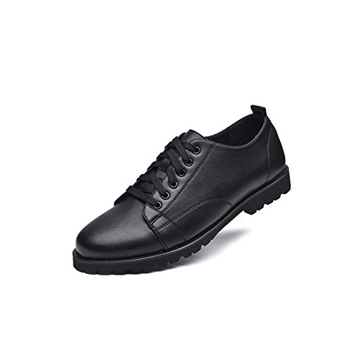 Personality Casual Spring Style Shoes Shoes Fashion Lace WLFHM Black Youth Men Cw0gxOwqn