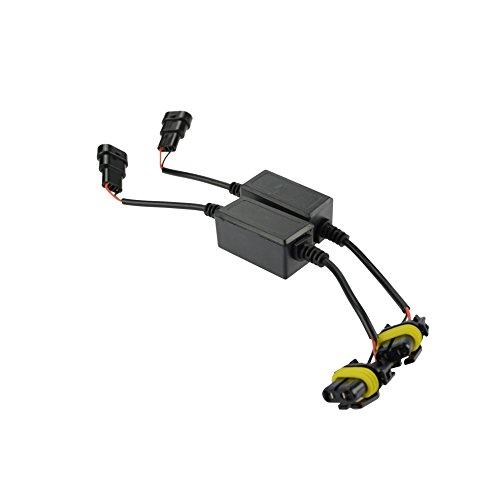 Innovited HID Kit Error Warning Canceller Anti Flicker Capacitor (1 Pair) ()