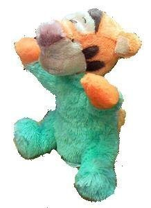 Disney Winnie the Pooh, Baby Tigger Long Pile Plush 9, Rattle Inside Doll Toy (Baby Tigger)