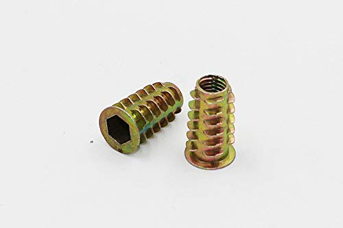 ZRM&E Zinc Alloy Threaded Insert Nuts with