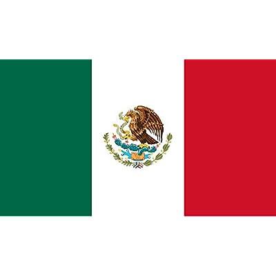 *** PROMOTION *** Drapeau Mexique - 150 x 90 cm (Uniquement chez le vendeur PLANETE SUPPORTER = 100% conforme à l'image)