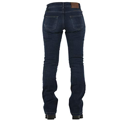 Talla Donington Ruta Mujer Overlap Azul 30 Smalt Jeans Homologue 4qUOxwzF