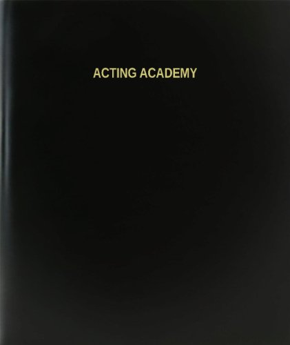 BookFactory® Acting Academy Log Book / Journal / Logbook - 120 Page, 8.5