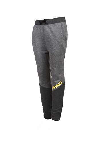 Price comparison product image Tony Hawk Kids Boys French Terry Fleece Jogger Pants With Drawstring Waist and Pockets Charcoal Grey Size 8