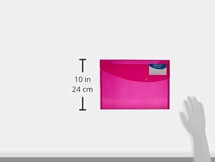 Wei/ß Rapesco 0700 Sammelmappe DIN A4 5x500 Blatt 5 St/ück pro Verpackung,mit Druckknopf DIN A4 80 g//m/² transparenten Farben /& Basics Druckerpapier