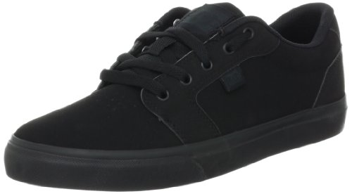 Action Leather Footwear - DC Men's Anvil Action Sports Shoe, Black/Black, 10 M US