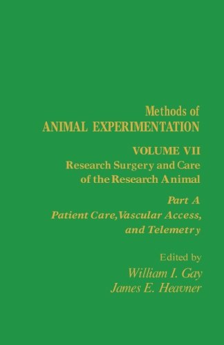 Download Research Surgery and Care of the Research Animal: Patient Care, Vascular Access, and Telemetry (Volume 7) pdf
