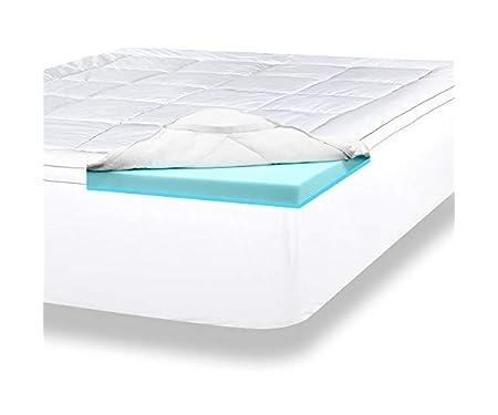 ViscoSoft 4 Inch Pillow Top Memory Foam Mattress Topper