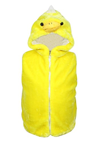 Bioterti Kids' Animal Hooded Vest for Dress Up/with
