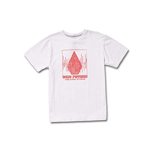 Youth T-shirt Stone (Volcom Big Boys' Stone Rate Basic Fit Short Sleeve Tee Youth)