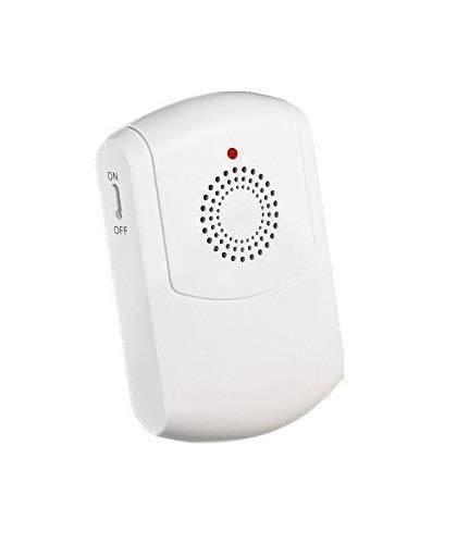 CROSSPOINT Extra Add-On Portable Vibrating Receiver for the Expandable Wireless Multi-Unit Long Range Doorbell Alert System, White -  SadoTech, CROSSPOINT-ADDON-H-1
