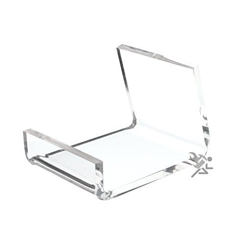 Phone Cell Display - (5) Clear Acrylic Home Office Retail Display Case Cell Phone Holder Stand Easel