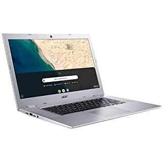 """Acer Chromebook 315 15.6"""" Touchscreen Laptop Computer, for Business Education,AMD A4-9120C(up to 2.4GHz), 4GB RAM, 64GB eMMC, 10 Hours, Online Class Ready, Chrome OS, Silver, iPuzzle Accessories"""