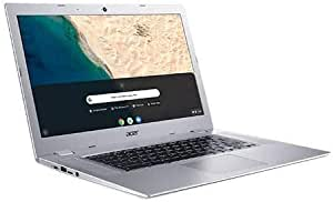 "Acer Chromebook 315 15.6"" Touchscreen Laptop Computer, for Business Education,AMD A4-9120C(up to 2.4GHz), 4GB RAM, 64GB eMMC, 10 Hours, Online Class Ready, Chrome OS, Silver, iPuzzle Accessories"