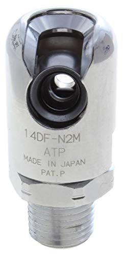Industrial Interchange 1//2 X 3//8 Npt Male Chrome Plated Safety-Slide