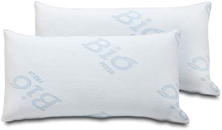 Santino Pack 2 Almohadas Viscocopos Biofresh 70cm: Amazon.es: Hogar